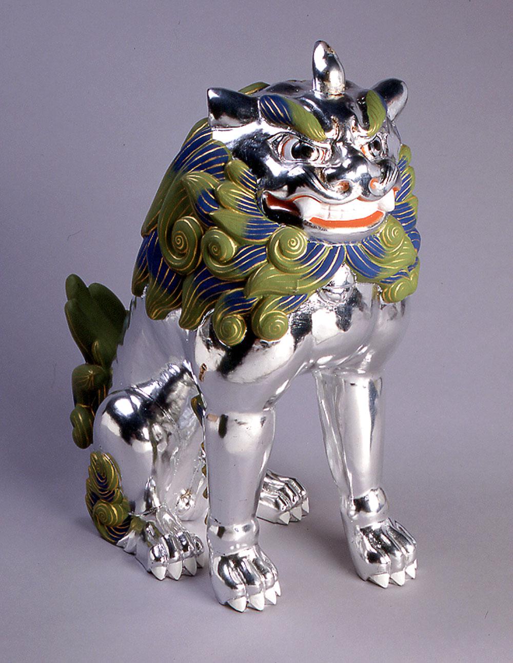 平安・鎌倉時代の高麗犬イメージです。イうーん、相当な猛犬!?